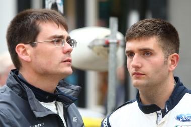 Four-time British Rally Champion